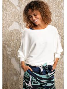 Studio Anneloes  Studio Anneloes Lara batwing pull 04800 Trui 1100 off white