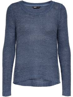 Only ONLGEENA XO L/S PULLOVER KNT Trui vintage indigo 15113356