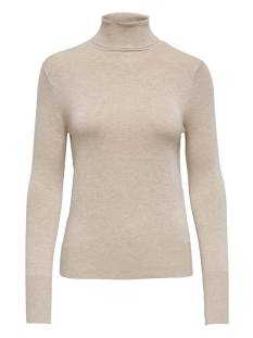 Only ONLVENICE L/S ROLLNECK PULLOVER Trui whitecap gray 15183772