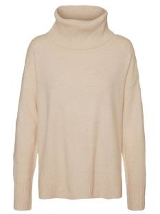 Vero Moda VMDOFFY LS COWLNECK BLOUSE Trui tobacco brown 10235979