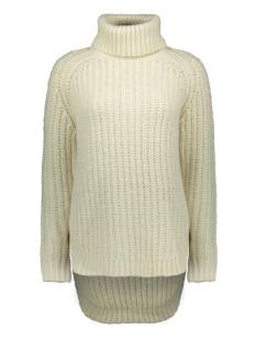 Only ONLMELLA L/S LONG PULLOVER KNT Trui almond milk 15216405