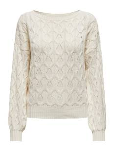 Only  Only ONLBRYNN LIFE STRUCTURE L/S PUL Trui cloud dancer 15222853