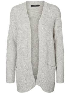 Vero Moda  Vero Moda VMNO NAME LS CARDIGAN Vest light grey 10183605