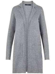 Vero Moda  Vero Moda VMTASTY FULL NEEDLE LS NEW COAT Vest medium grey 10215659