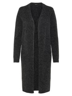 Vero Moda  Vero Moda VMDOFFY LS LONG OPEN CARDIGAN Vest black detail mele