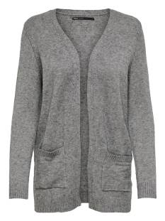 Only  Only ONLLESLY L/S OPEN CARDIGAN KNT Vest medium grey 15174274