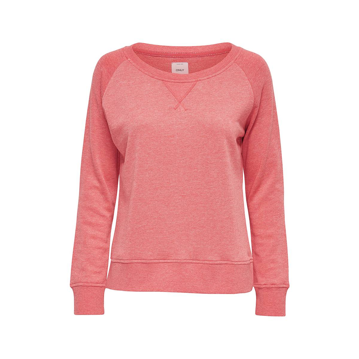 Only ONLLOTUS LS O-NECK 15131554 Rood