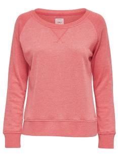 Only  Only ONLLOTUS LS O-NECK 15131554 Sweater calypso coral/melange