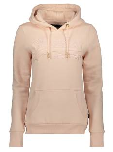 Superdry  Superdry W2010080B VL EMB OUTLINE Hoodies 6sv peach whip