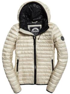 Superdry Jas Superdry G50001DQ CORE DOWN HOODED Jack iceburg no4