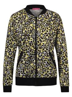 Studio Anneloes Jas Studio Anneloes BOMBER LEOPARD 01679 Jack 9023 black/curry