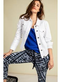 Studio Anneloes Jas Studio Anneloes Isabel white jeans jacket 04208 Jack 1000 white