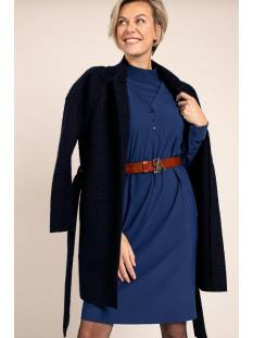 Studio Anneloes Philly wool coat 05353 Blauw