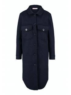 Studio Anneloes Julie wool lumberjacket 05348 Jack 6900 dark blue