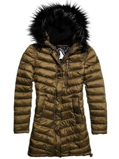 Superdry G50010NPF1 CHEVRON FUR SUPER Winterjassen khaki o30