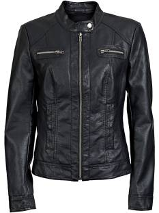 Only Jas Only BANDIT PU BIKER ONLY Leer en leatherlook black 15081400