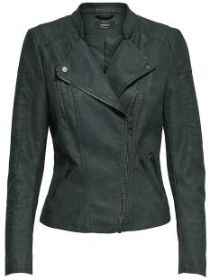 Only ONLAVA FAUX LEATHER BIKER Leer en leatherlook jet set 15102997