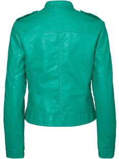 Vero Moda VMALICE SHORT FAUX LEATHER Groen