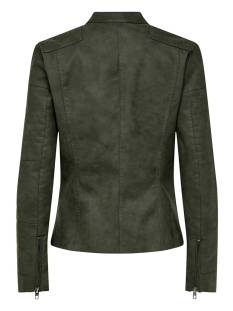 Only ONLAVA FAUX LEATHER BIKER OTW Groen