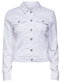 Only ONLNEW WESTA DETAIL JACKET Spijkerjasje white