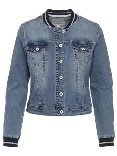 Tramontana Jas Tramontana Q06-86-801 DENIM JACKET SPORTY Spijkerjasje 5003 blue denim