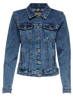 Only Jas Only ONLTIA DNM JACKET BB MB Spijkerjasje medium blue denim 15170682