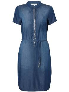 Tramontana Jurk Tramontana Q01-83-501 DRESS CHAMBRAY Jurk 45 dark chambray