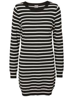 Vero Moda Jurk Vero Moda VMGLORY LS O-NECK DRESS Jurk black stripes 10179994