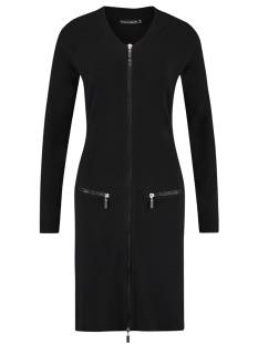 Studio Anneloes ZIP BOMBER DRESS 01182 Jurk 9000 black
