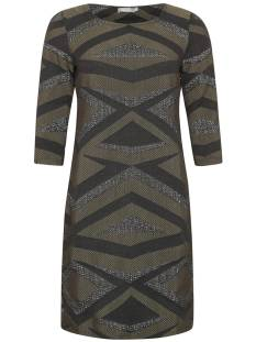 Geisha Jurk Geisha 77868 DRESS Jurk 999 black/army