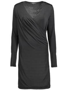 Vero Moda Jurk Vero Moda VMNAOMI LS WRAP SHORT DRESS Jurk black 10191364