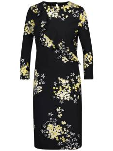 Studio Anneloes Jurk Studio Anneloes SARAH RUFFLE FLOWER DRESS 01668 Jurk 9023 black/curry