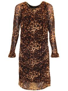 Tramontana Jurk Tramontana Q18-89-501 DRESS MESH Jurk 9992 brown