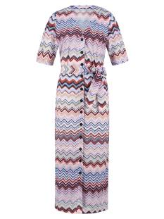 Studio Anneloes Jurk Studio Anneloes Cintia missoni dress 04847 Jurk 3368 terra/skyblue