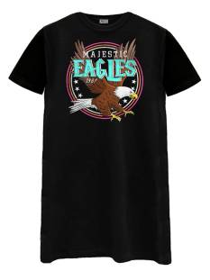 Azuka Jurk Azuka MAJESTIC EAGLES T-SHIRT DRESS Jurk black