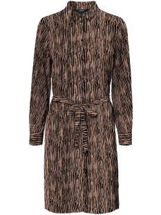 Vero Moda VMSAGA LS ABK COLLAR SHIRT DRESS Jurk tan selma 10234360