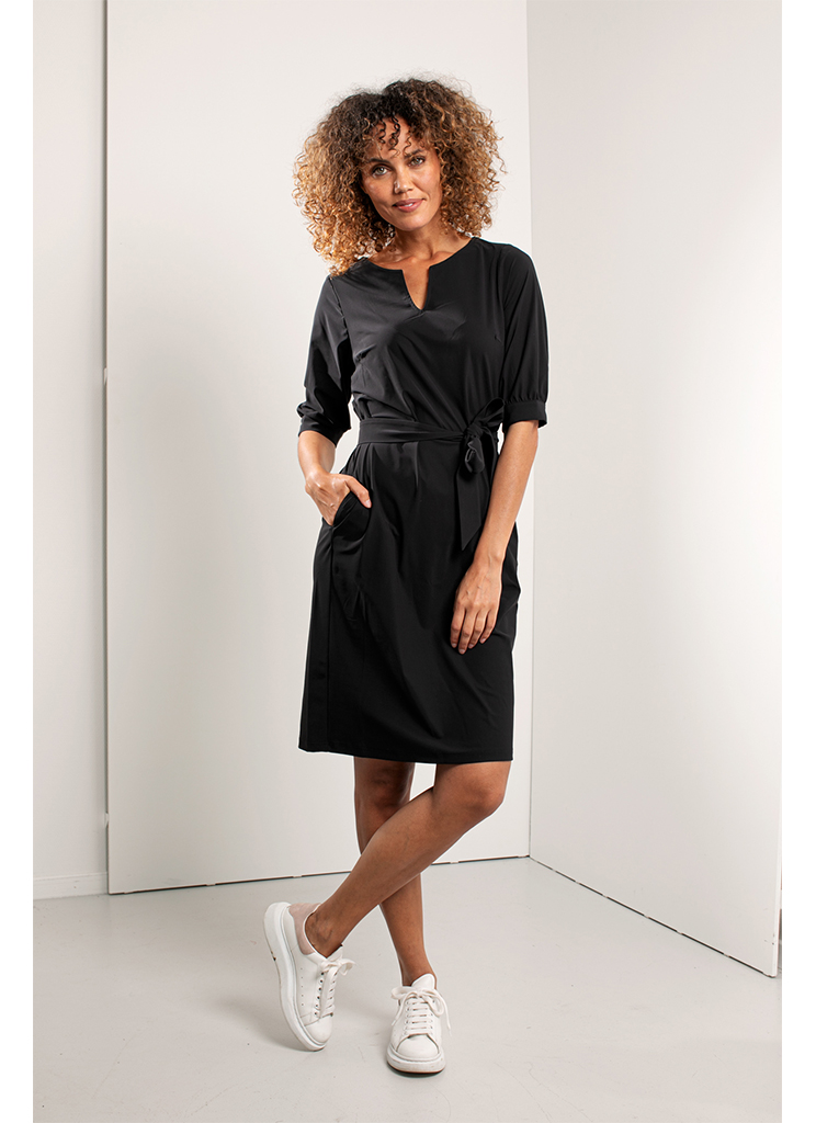 Studio Anneloes dames Jurken Flex dress 92726 XXL Zwart