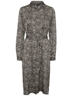 Vero Moda VMBILLI L/S BELT SHIRT DRESS Jurk macadamia 10245320