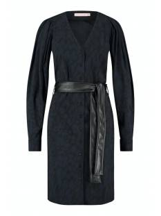 Studio Anneloes Jurk Studio Anneloes Anouk animal dress 05218 Jurk 9069 black/dark blue
