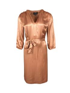 Elvira Jurk Elvira E1 21-026 DRESS SILKE Jurk 797 brons