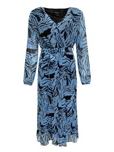Elvira E1 21-015 DRESS FIEN PLISSE Jurk 792 zebra ice blue