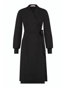 Studio Anneloes Jurk Studio Anneloes Sign wrap dress 05289 Jurk 9000 black