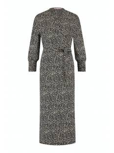 Studio Anneloes Jurk Studio Anneloes Gigi small spot dress 05665 Jurk 6927 dark blue/sahara