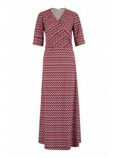 Studio Anneloes Jurk Studio Anneloes Rosa multi dress 05757 Jurk 9030 black/red