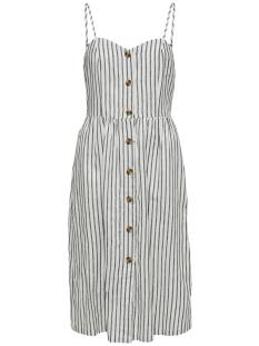 Only Jurk Only ONLLUNA STRAP STRIPE DNM DRESS Zomerjurkjes white stripes 15178937