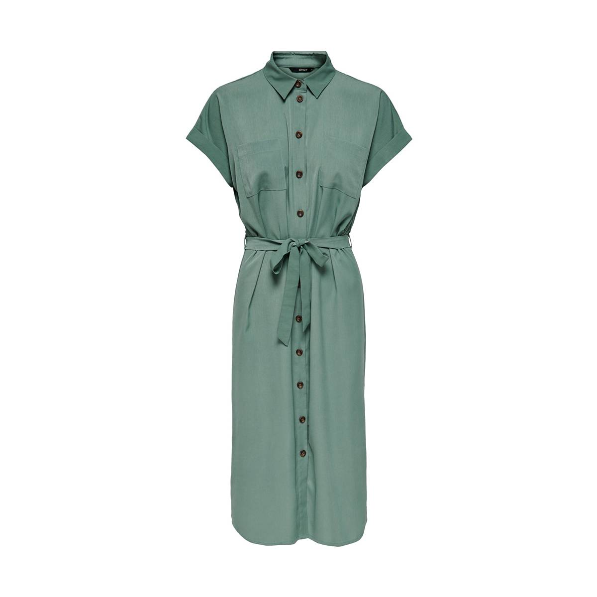 Only ONLHANNOVER S/S SHIRT DRESS Groen