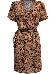 Elvira Jurk Elvira E2 20-042 DRESS ROOS Zomerjurkjes cheetah brown