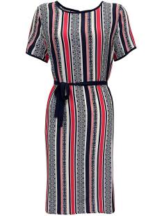 Elvira Jurk Elvira E2 20-011 DRESS LONNEKE Zomerjurkjes red stripe