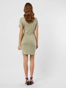 Vero Moda VMAVA LULU SS SHORT DRESS GA Groen