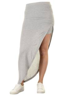 Only ONLNEW RIA SKIRT Rokken light grey melange